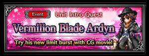 Vermilion Blade Ardyn