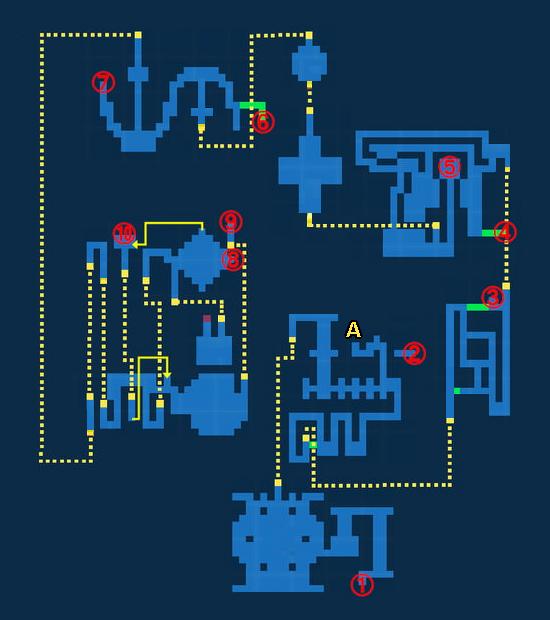Map for Castle Exdeath - Exploration