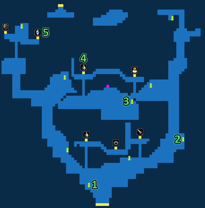 Quest Map of Lost Village of Marlo