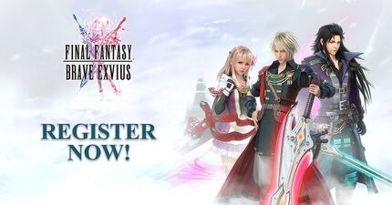 Final Fantasy Brave Exvius Pre-registration