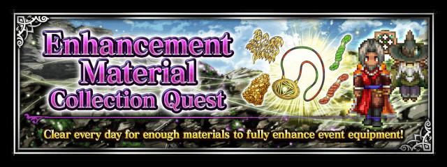 Enhancement Material Collection Quest