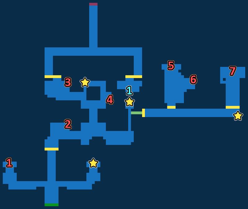 Treasure Map of Water Shrine