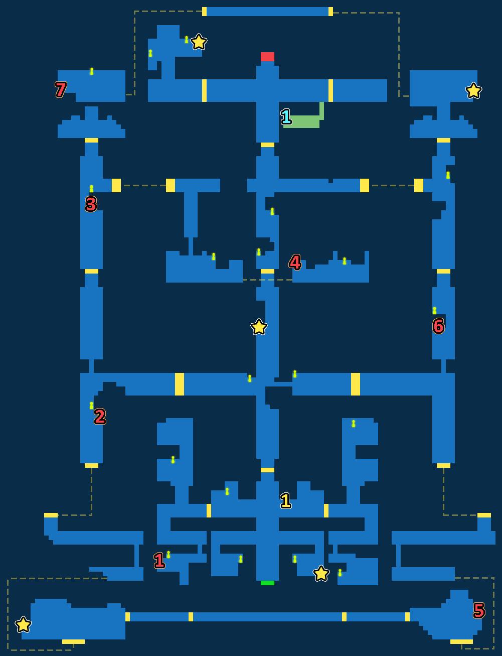 Treasure Map of Dwarves' Forge