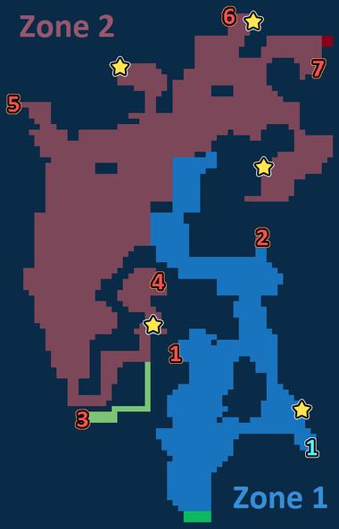 Encounter Map of Kolobos Reef