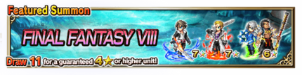Featured Summon for Final Fantasy VIII