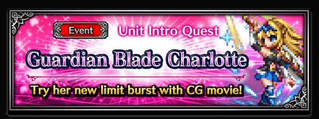 Guardian Blade Charlotte