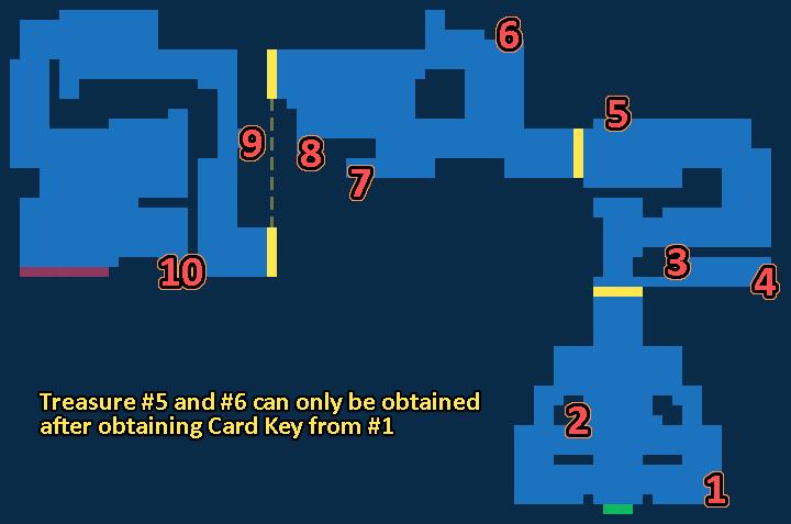 Treasure map of Big Bridge - Exploration