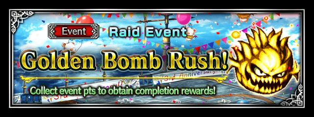 Golden Bomb Rush!