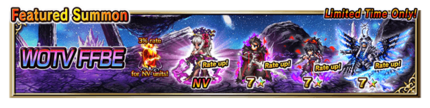 Featured Summon for WOTV FFBE