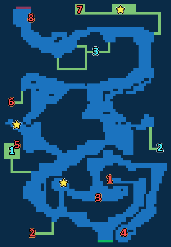 Treasure Map of Fulan Pass