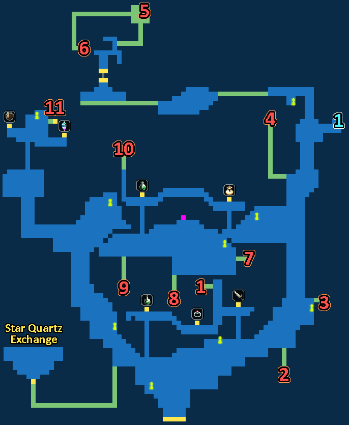 Treasure Map of Lost Village of Marlo
