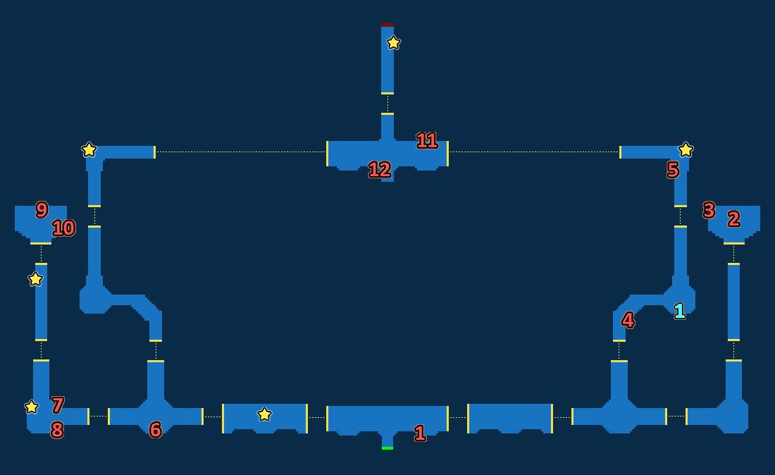 Map of Grandore Gravity Block