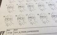 Frank Expressions model sheet