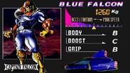 Captain Falcon seleccion F-Zero X