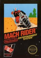 Mach rider boxart
