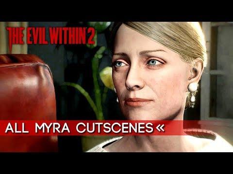 The Evil Within 2 | All Myra Hanson Cutscenes 【1080p HD】