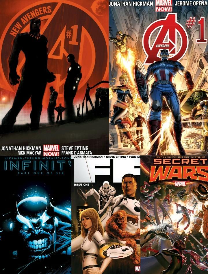 Just Imagine#4: Jonathan Hickman, Cheif Editor of Marvel!