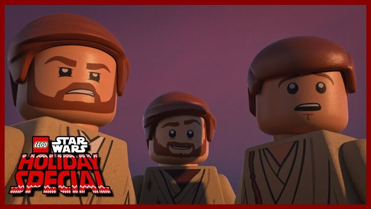 HELLO THERE (3 Obi-Wan Kenobis) Clip - LEGO Star Wars Holiday Special 2020