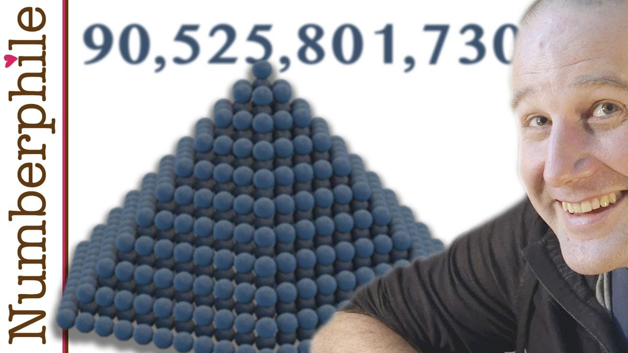 90,525,801,730 Cannon Balls - Numberphile