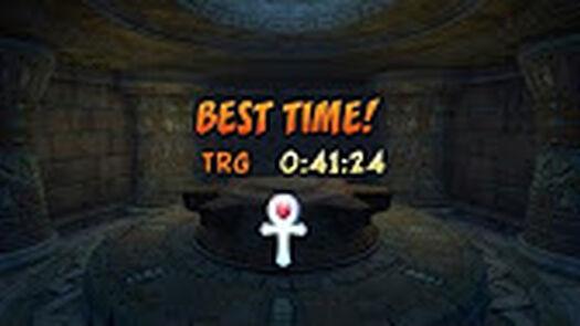 Crash Bandicoot Cortex Strikes Back Platinum Time Trials - YouTube