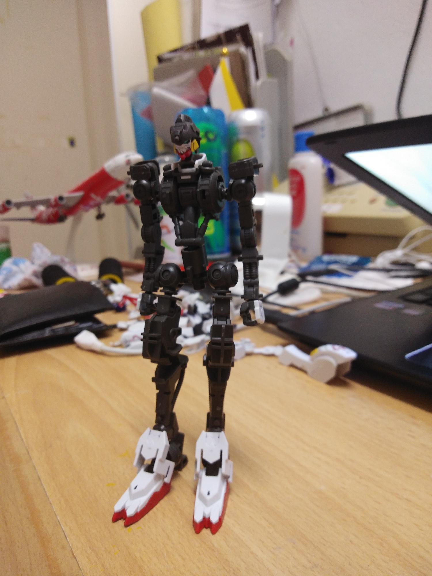 HG Barbatos Skeleton