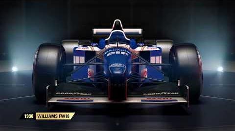 F1 2017 Classic Car Reveal - Williams UK
