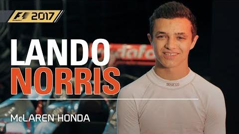 F1 2017 MAKE HISTORY Lando Norris McLaren Gameplay UK