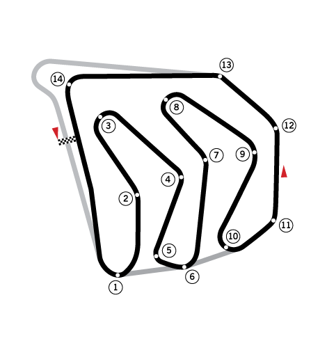 Caesars Palace Circuit