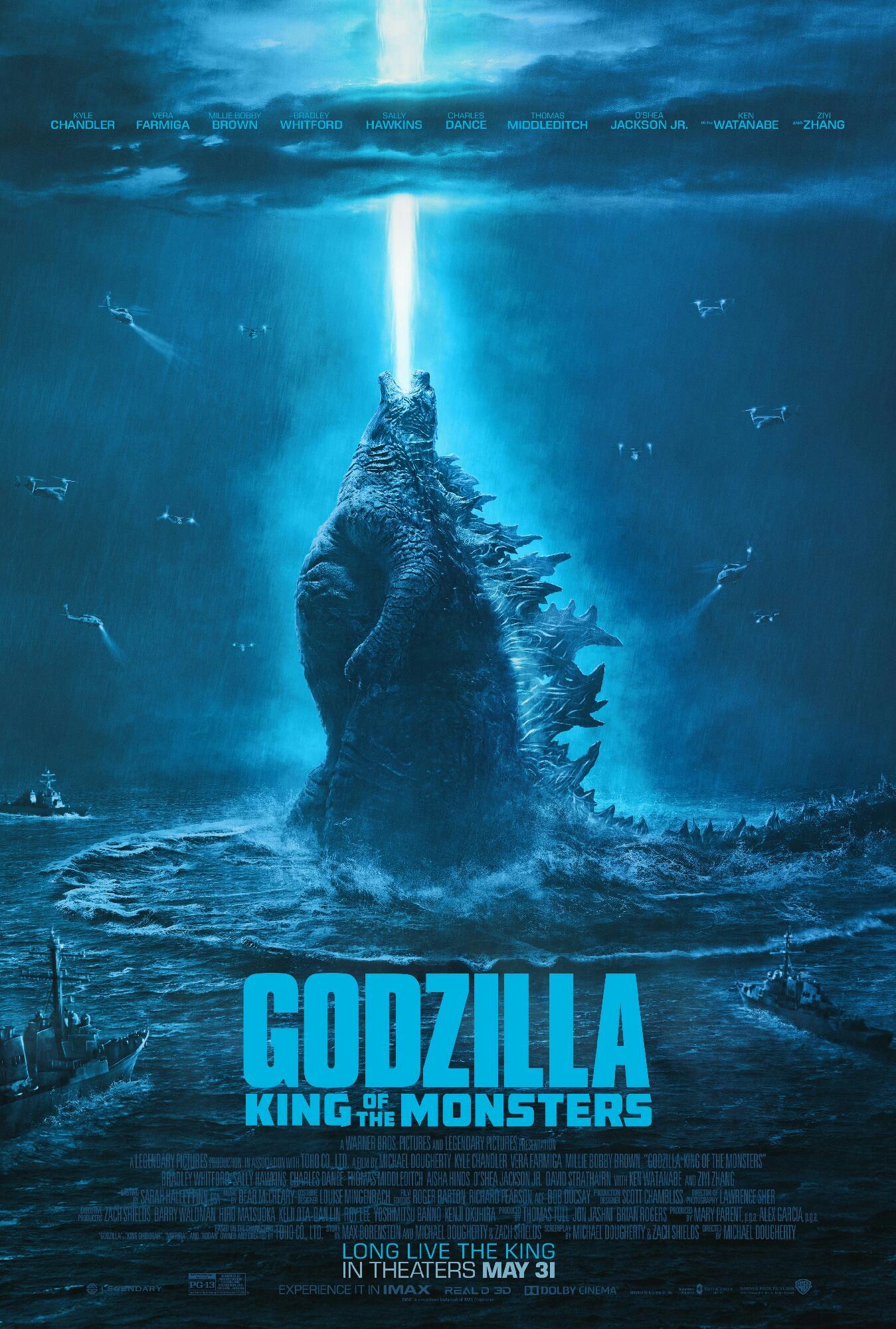Poster de una demis películas favoritas de Godzilla
