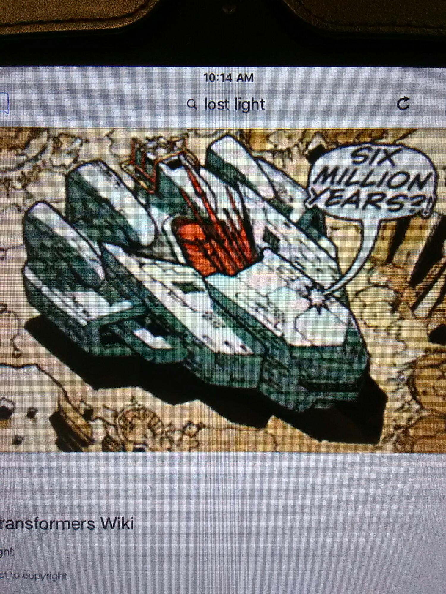 Dose any else want a lost light ship toy