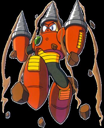 Daily Robot Master Post (Drill Man)
