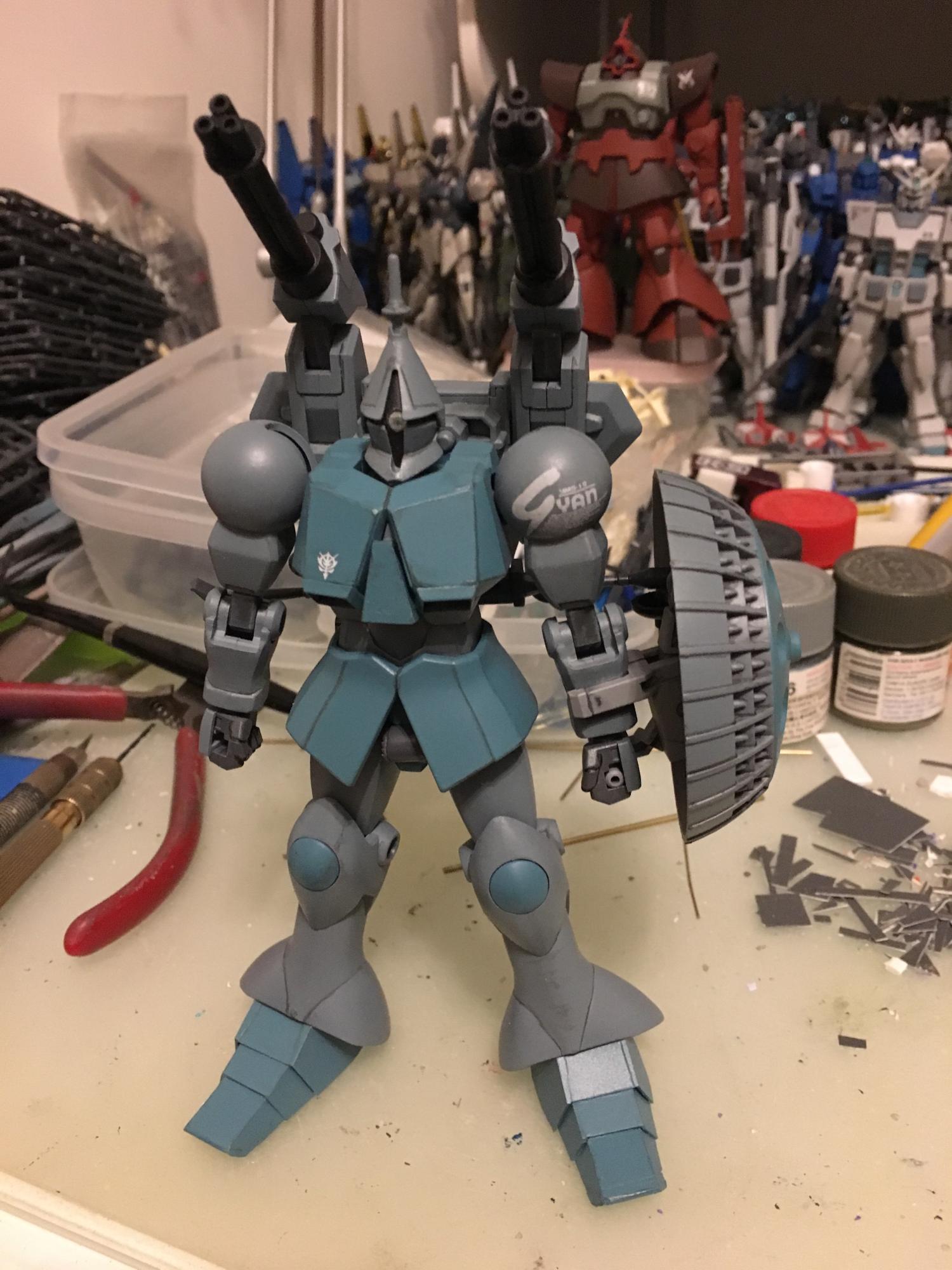 HGUC YMS-15 Gyan