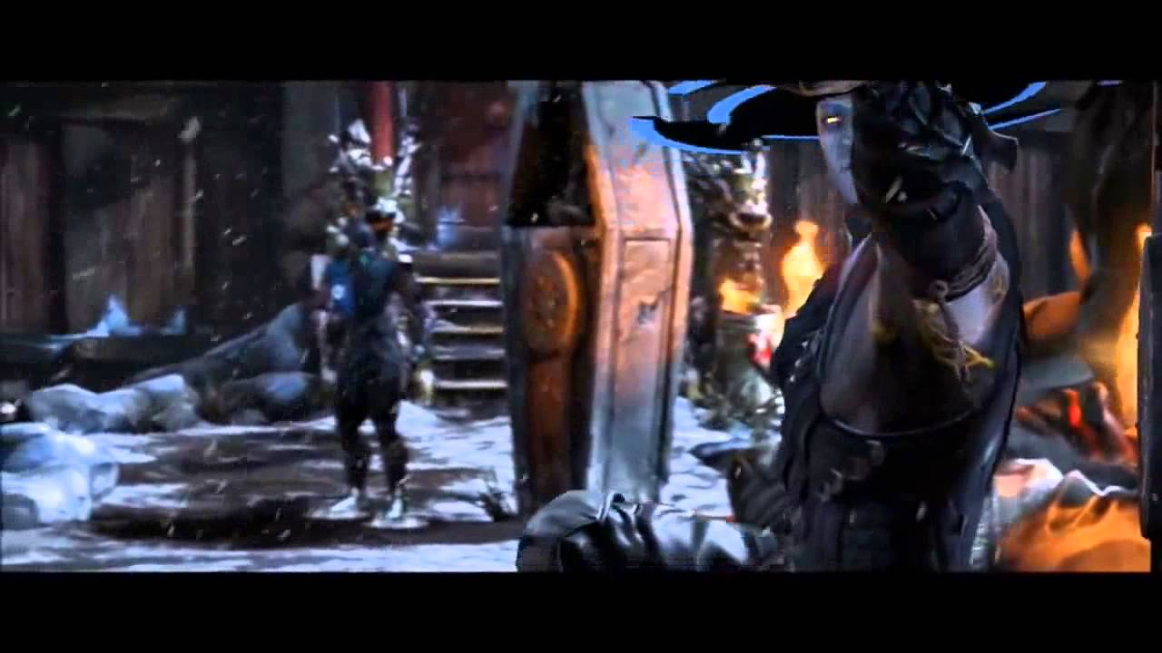 Mortal Kombat X - Sub-Zero and Revenant Kung Lao Dialogue