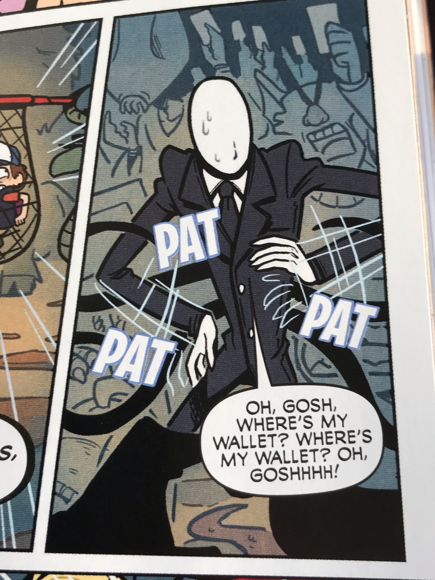GUYS IT IS CONFIRMED, SLENDERMAN IS IN THE GRAVITY FALLS LOST LEGENDS BOOK
