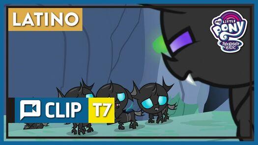 "[CLIP] MLP: FiM – Pharynx se prepara para Thorax ""Cambiando a un Cambiante"" [LATINO] [HD]"