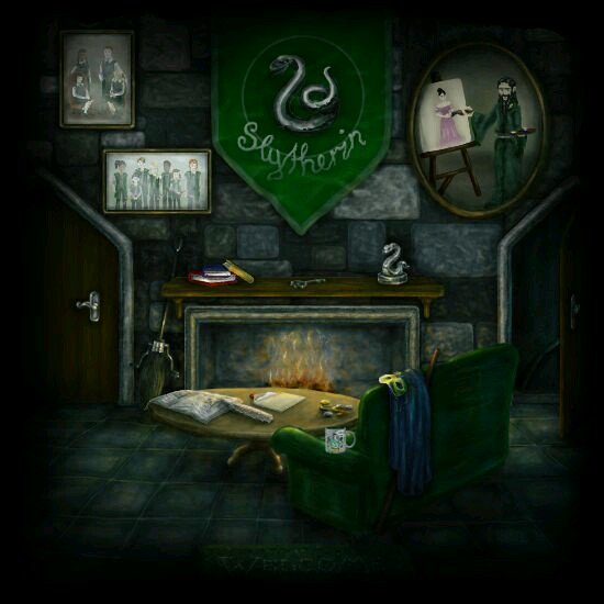 💚 SLYTHERIN COMMON ROOM 💚