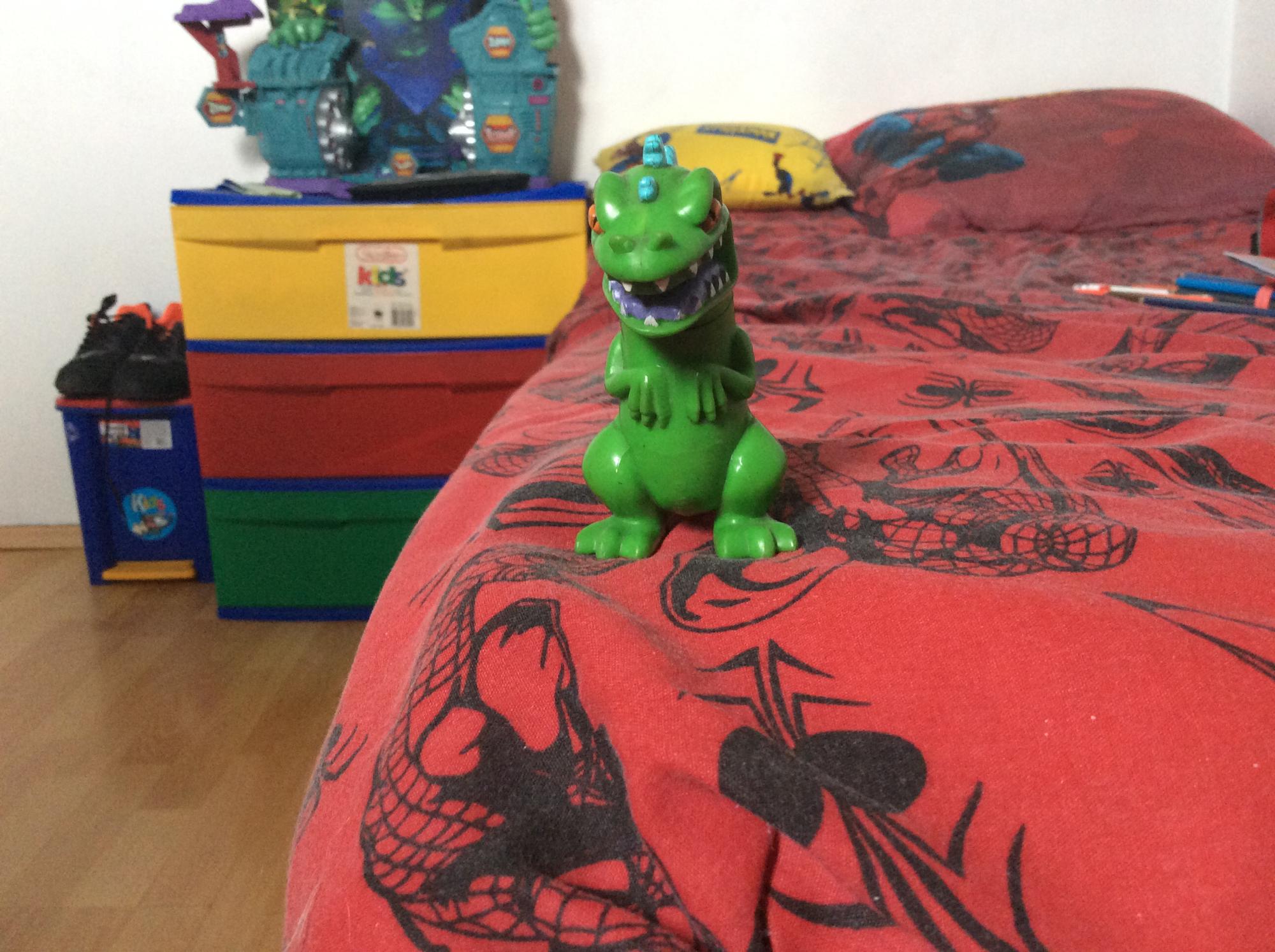Godzilla caricatura