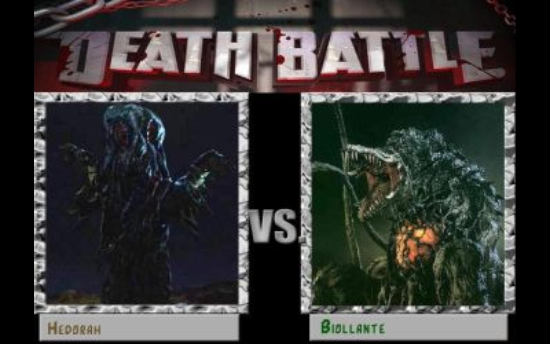Quien creéis que ganaria, Biollante o Hedorah?