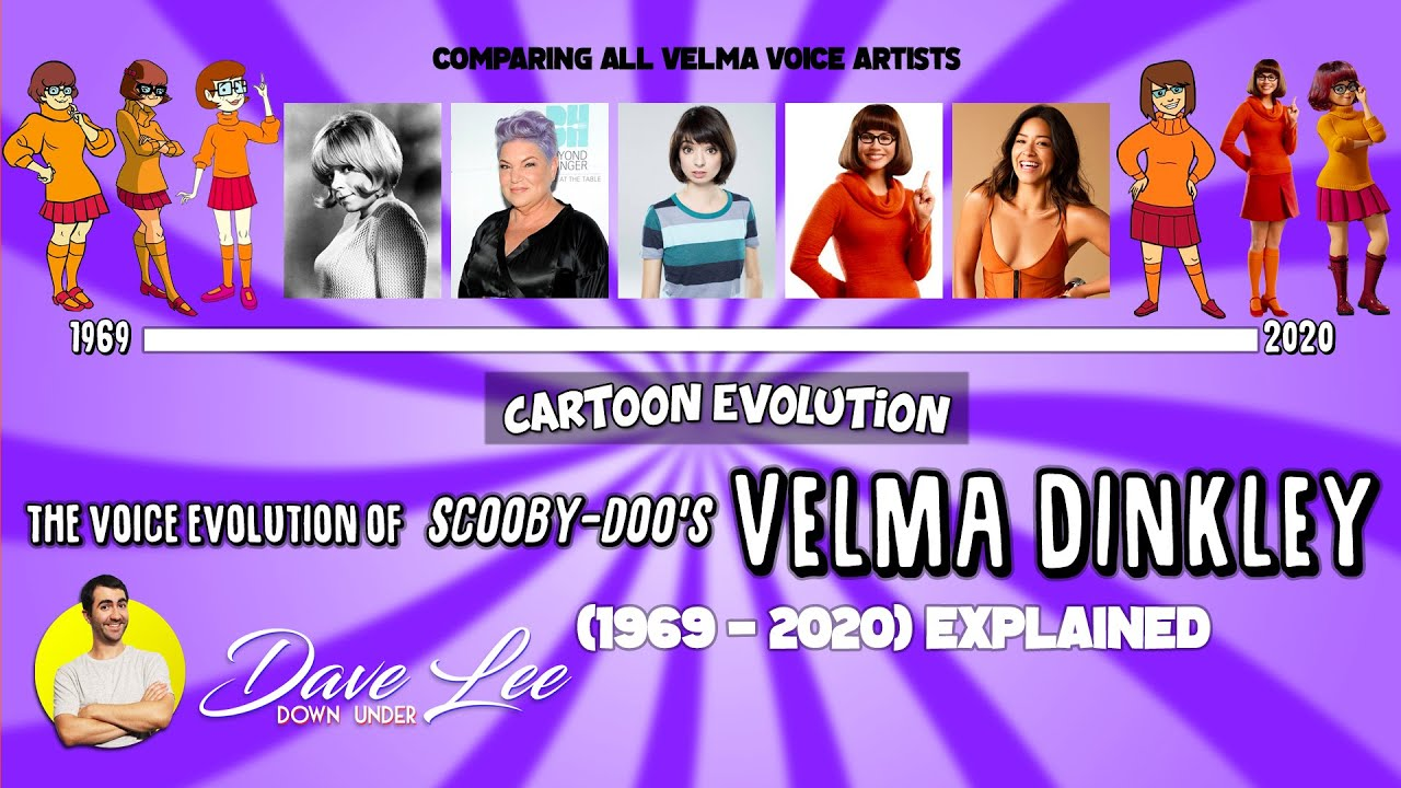 Voice Evolution of VELMA DINKLEY (SCOOBY-DOO) - 51 Years Compared & Explained | CARTOON EVOLUTION