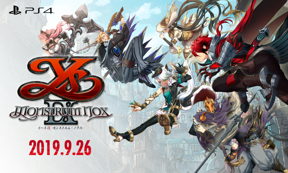 Release Date for Ys IX: Monstrum Nox.