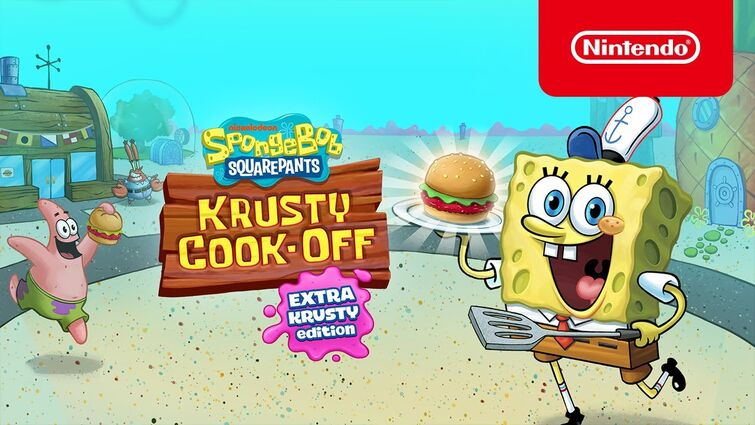 Krusty Cook-Off - Extra Krusty Edition - Get Cookin' - Nintendo Switch