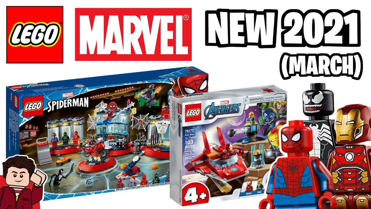 MORE LEGO Marvel Avengers & Spider-Man March 2021 Sets Revealed