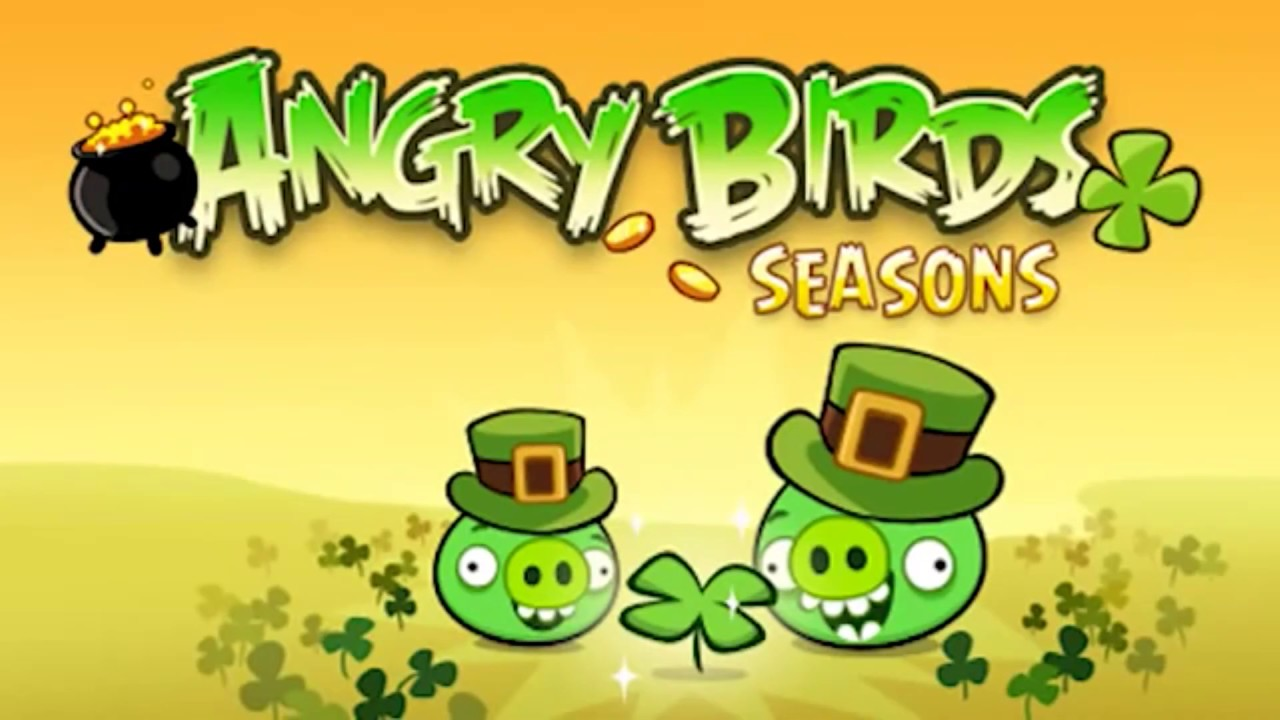 Go Green, Get Lucky! Angry Birds Seasons | Angry Birds Stores | Мистериум