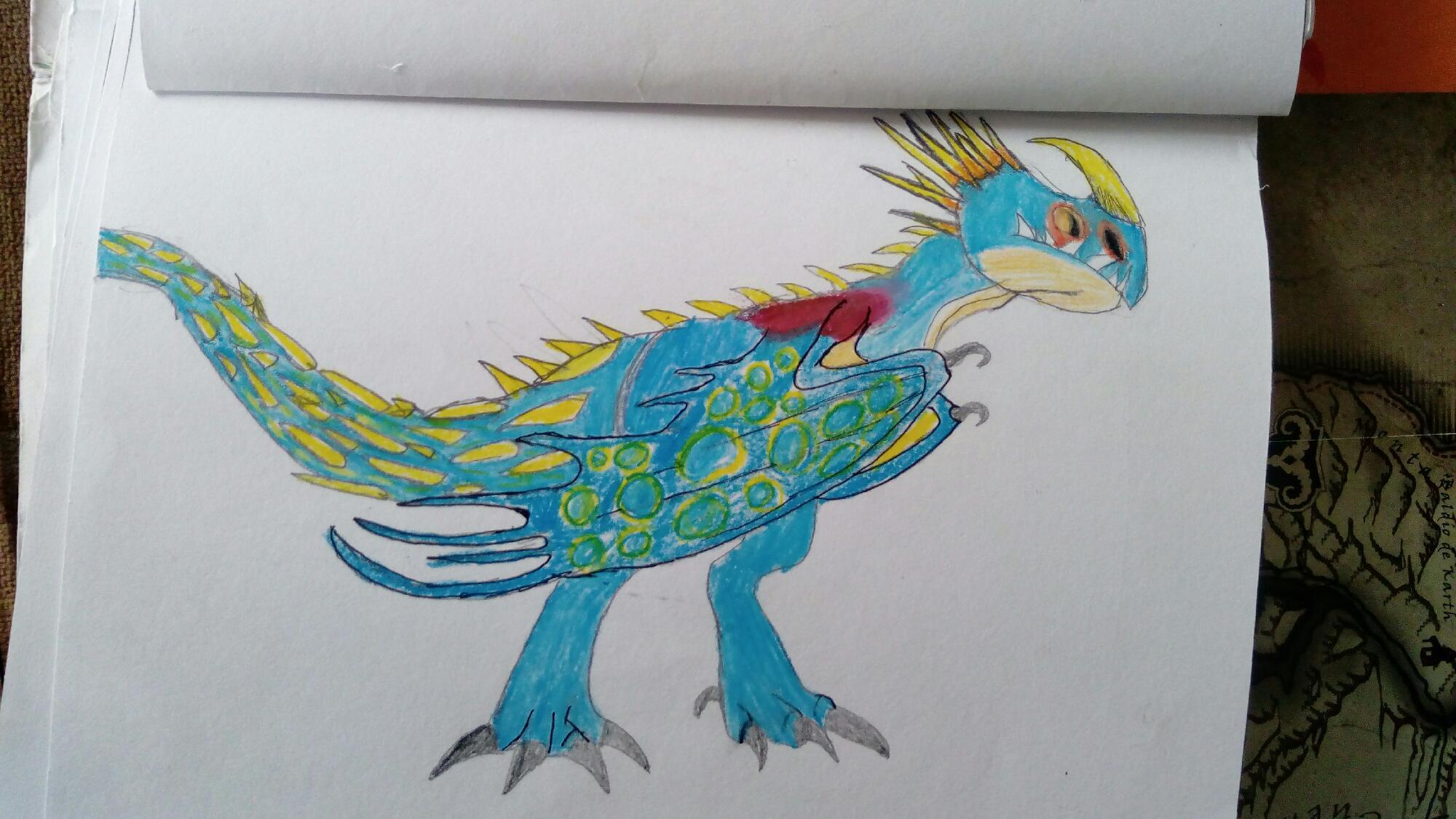 Dragon de mi libro de dragones