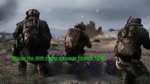 46th M.E.U recruitment cinematic