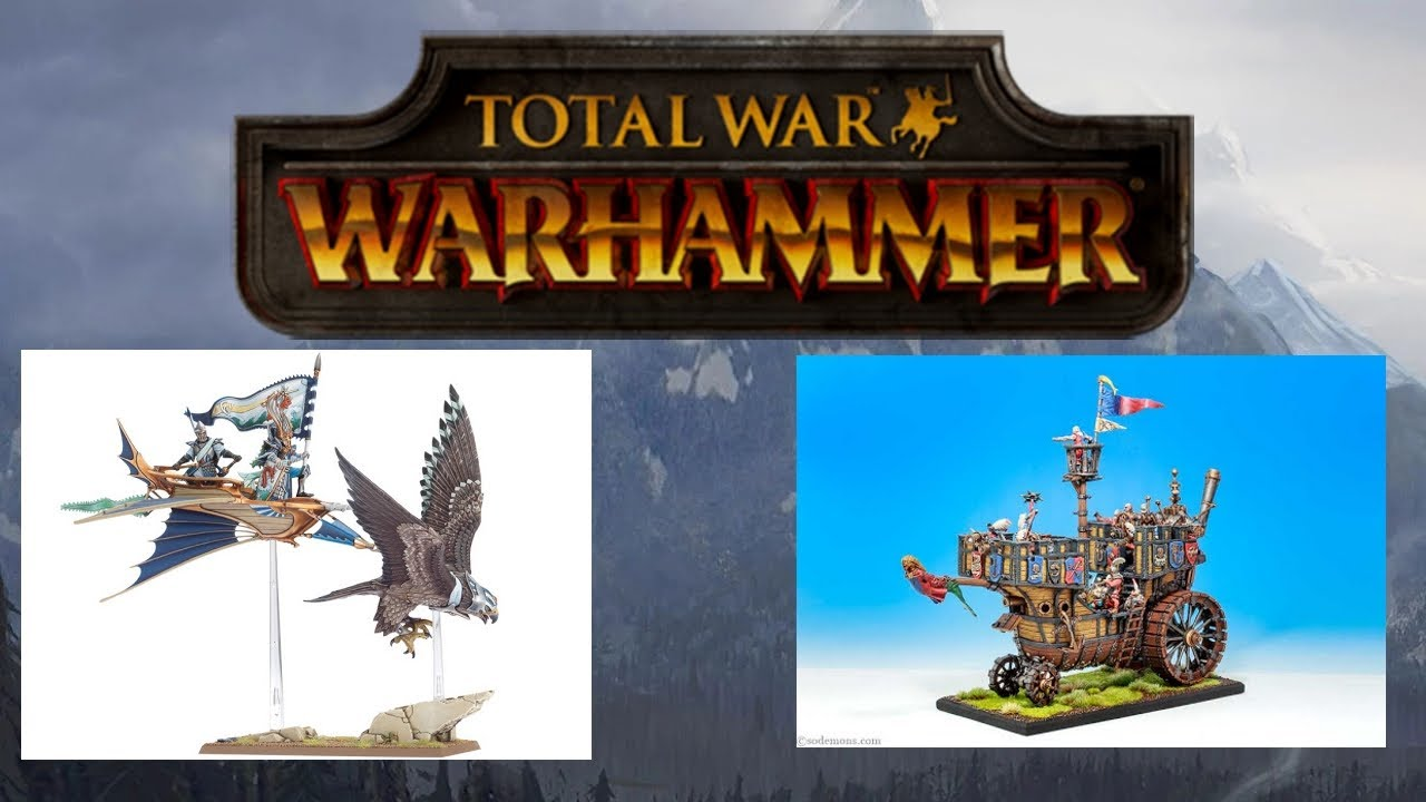 Playable Lothern Skycutter, Marienburg Landship And More - Modder Highlight - Total War Warhammer
