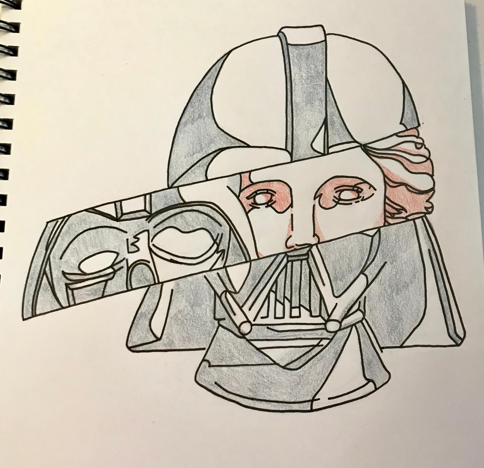 Anakin/Vader piece