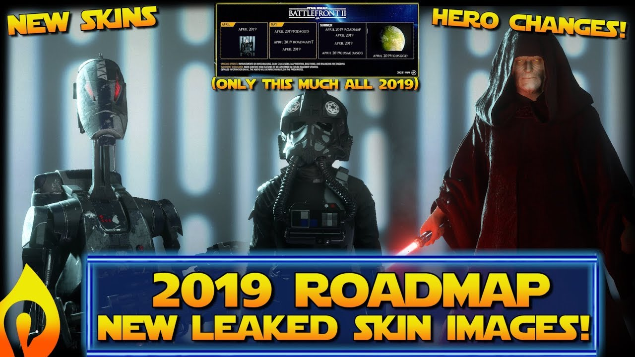 Star Wars Battlefront 2 - Known Leaker Released Roadmap Images Early