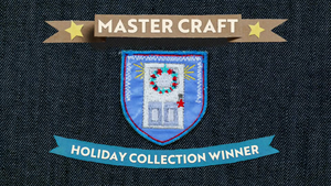 holiday collection badge
