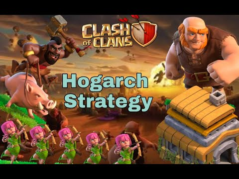 Th 6 ||Hogarch Strategy🔥🔥||100% 3 Star war Attack strategy||🔴Live Attack🔴